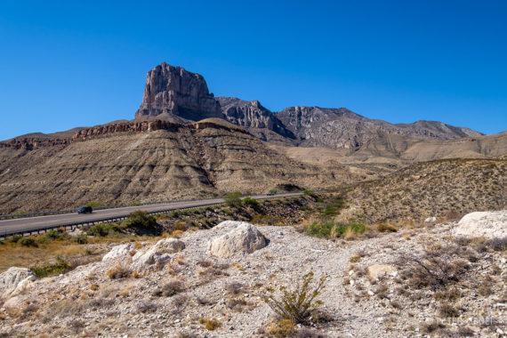 Začetek ali konec pogorja Guadalupe. Foto: Peter Gedei