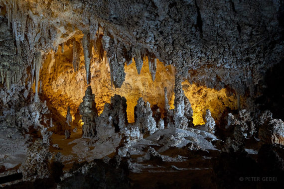 V turističnih delih znamenite jame Carlsbad Caverns. Foto: Peter Gedei